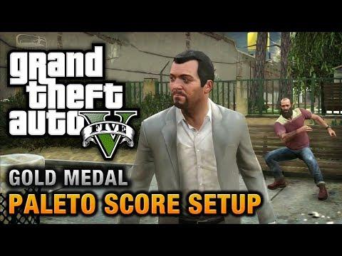 GTA 5 - Mission #49 - Paleto Score Setup [100% Gold Medal Walkthrough]