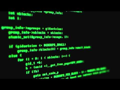 Hacker Code Green on Black 01 Free Stock Video Footage Download Clips