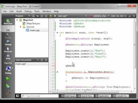 C++ Qt 41 - QHash