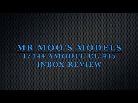 1:144 Amodel CL 415 inbox review