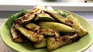 Кабачки запеченные в Аэрогриле GF. Кабачки с ореховым соусом.