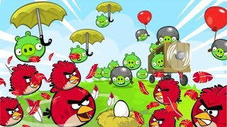 Angry Birds - EGG DEFENDER R.I.P BAD PIGGIES RED