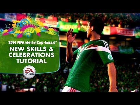 EA SPORTS 2014 FIFA World Cup  New Skills and Celebrations Tutorial