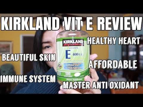 KIRKLAND VIT E REVIEW| BEAUTIFUL SKIN | HEALTH BENEFITS OF VIT E