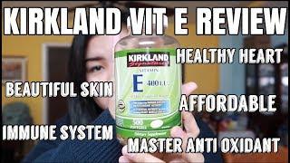 KIRKLAND VIT E REVIEW| BEAUTIFUL SKIN | HEALTH BENEFITS OF VIT E thumbnail