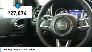2018 Jeep Compass Holzhauer Auto and Motorsports Group 485557