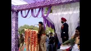 Olympian Avneet Kaur Sidhu PPS  inaugurating 20 Athletic meet of PTU GZSEC Bathinda