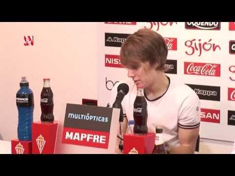 Presentación de Halilovic, nuevo jugador del Real Sporting