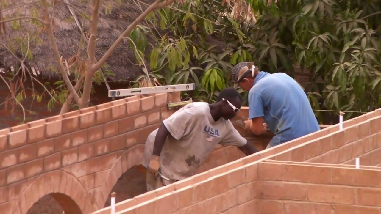 Building another cseb house in africa youtube for How to go about building a house