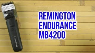 Распаковка REMINGTON Endurance MB4200