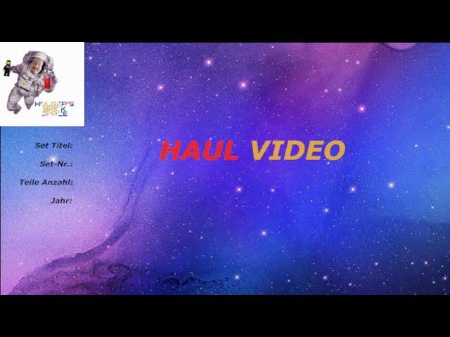 Ein Haul-Video zwischen durch.  :)