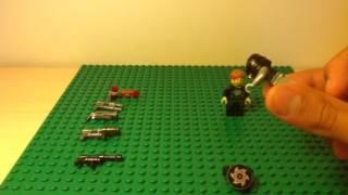 Самоделки на тему Лего Оружия