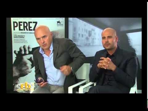 Luca Zingaretti e Marco D'Amore, intervista per Perez, RB Casting, Venezia 71
