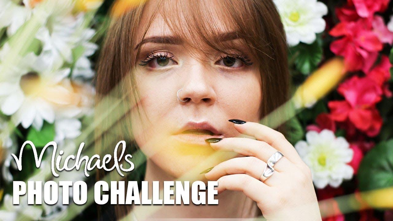 Michaels Craft Store Photo Challenge Youtube