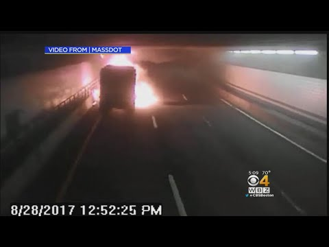 Truck Fire Shuts Down Mass Pike Connector Tunnel