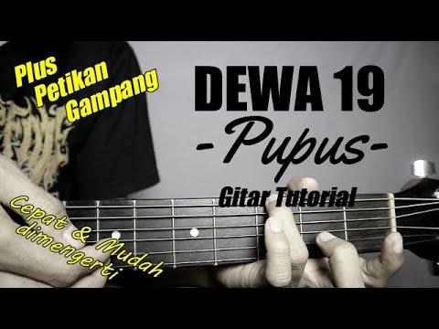 (Gitar Tutorial) DEWA 19 - Pupus |Mudah & Cepat dimengerti untuk pemula