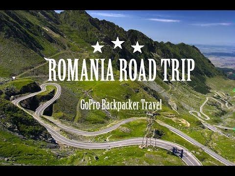 Romania Road Trip GoPro Hero 4 1080p HD