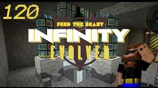minecraft ftb infinity evolved ep 120 laser drilling
