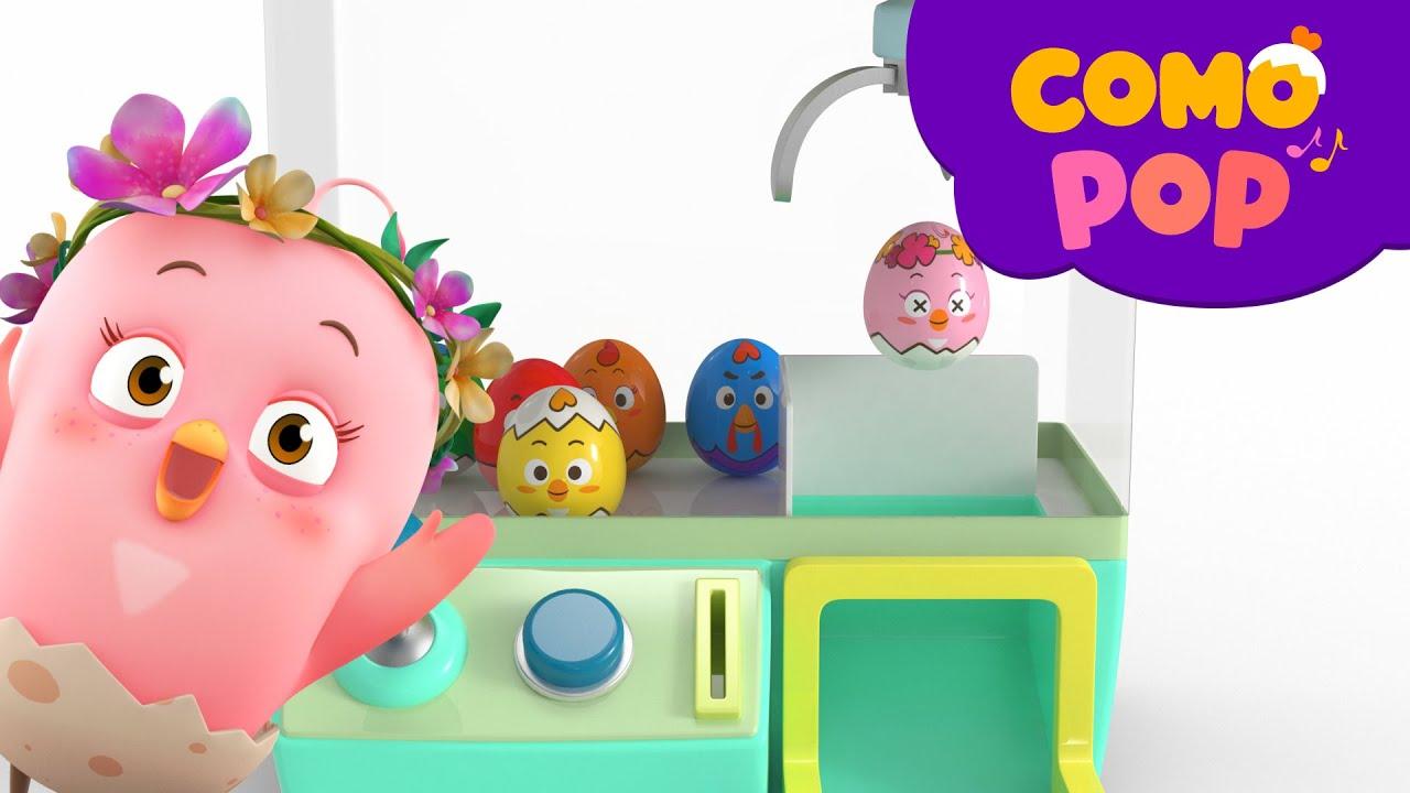 Como Pop | Kids Songs | Claw machine | Cartoon video for kids | Como Kids TV