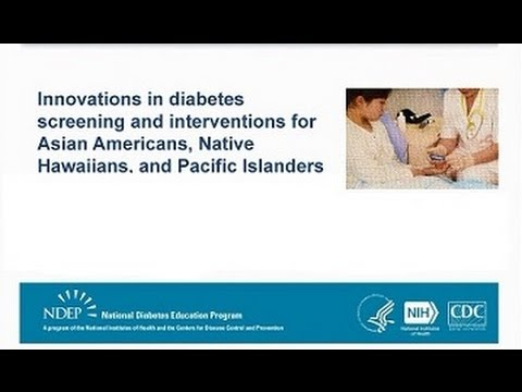Innovations in diabetes screening and interventions for AANHPI