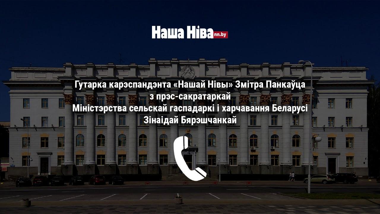 Пресс-секретарь Минсельхоза Белоруссии обматерила журналиста