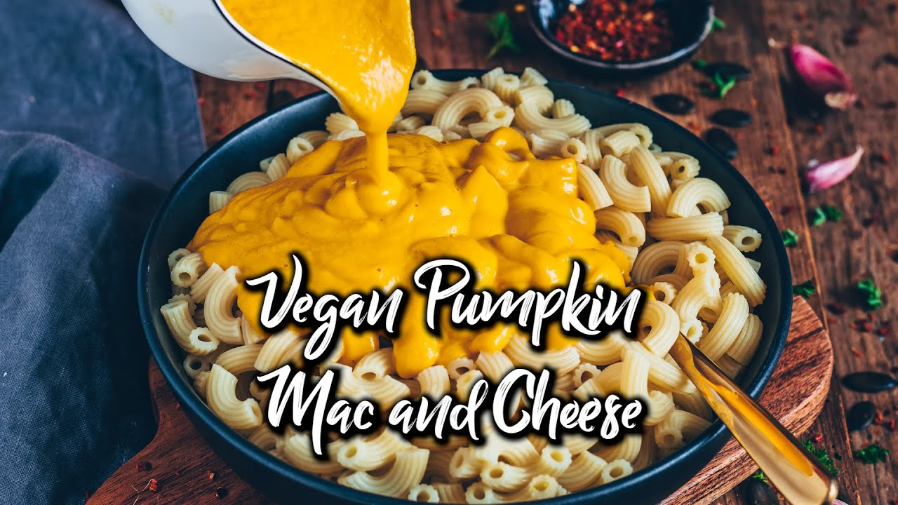 Vegan Pumpkin Mac and Cheese * easy Recipe
