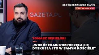"""TOMASZ SEKIELSKI o swoim nowym filmie """"Tylko nie mów nikomu"""""""