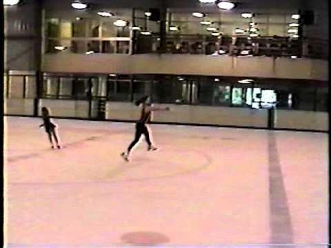 Rebecca Gilbert - ice skating