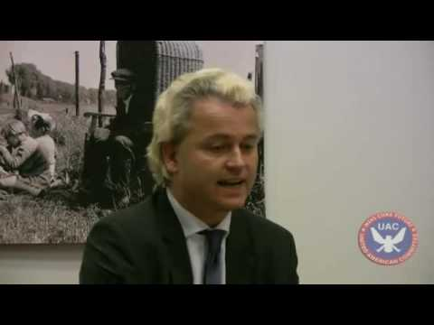 A UAC interview with Dutch MP Geert Wilders