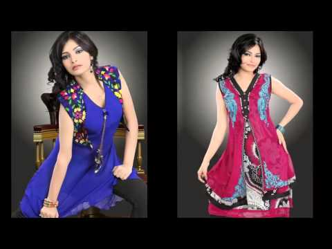 Pics Of Latest Cotton Kurtis, Casual Cotton Kurtis   Designer Kurtis With Jacket Pictures For Women