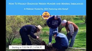 How To Diagnose Hidden Hunger And Mineral Imbalances In Plants (Webinar)