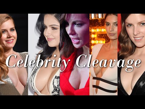 Celebrity Cleavage Anthology // Volume 1