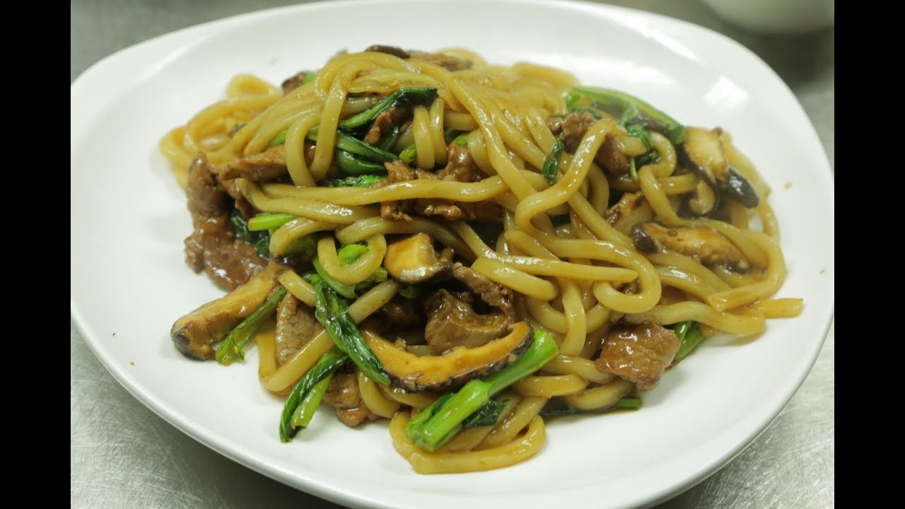 how to cook udon noodles stir fry