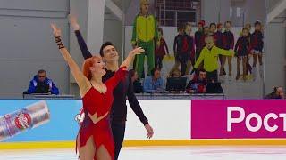 Произвольный танец Танцы на льду Сочи Кубок России по фигурному катанию 2020 21 Третий этап