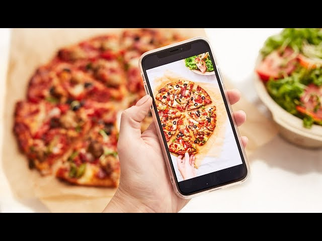 Editing Food Photography with Lightroom CC Mobile