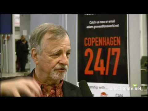 OneClimate talks to Herbie Girardet of the World Future Council at COP15 in Copenhagen - 2
