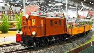 GREAT MODEL RAILROAD RAILWAY SIZE LGB SCALE 1:22,5 * MODEL LOCOMOTIVES, MODEL TRAIN