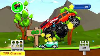 Monster Trucks Racing : Flame Truck - Part 4/Game For Kids - Nursery Rhymes Songs For Children
