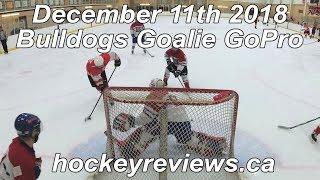 December 11th 2018 Bulldogs Hockey Goalie GoPro