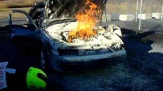 Éteindre un feu (sans son)