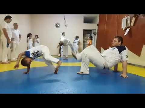Janeiro 2020 Mestre Badá Capoeira Benguela Santo André Marwin Artur Meire Julia Anny Miguel Manoela