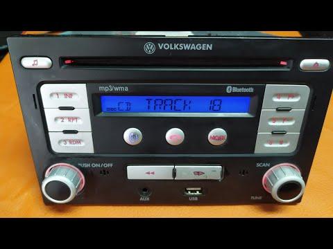 Estereo Radio AM FM Auxiliar USB MP3 Bluetooth VW Jetta Golf Derby Lupo Polo