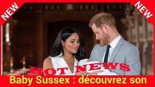 Baby Sussex : découvrez son adorable point commun avec le prince George, son cousin