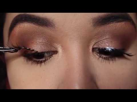 Easy Summer Peach Makeup Tutorial - YouTube
