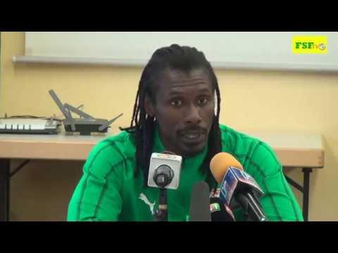 Conférence de presse d'avant match du Sélectionneur  national M. Aliou Cissé. Luxembourg vs Sénégal