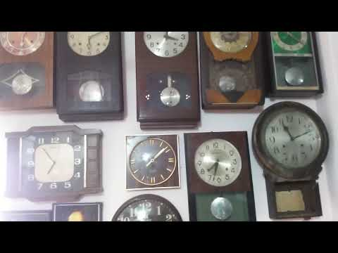 Vintage camera & wall clock collection(shantishop)