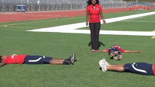 Dynamic Flexibility Series for Sprinters!