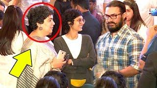 Video Aamir Khan's Ex Wife Reena & Current Wife Kiran Rao TOGETHER At Same Venue download MP3, 3GP, MP4, WEBM, AVI, FLV Agustus 2018