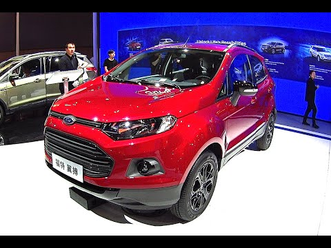 New 2016, 2017 Ford Ecosport Titanium, 1500CC, 110HP, 19500 USD for TOP model