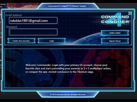 Command And Conquer 4 Tiberian Twilight CD Key Fix